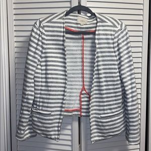 LOFT STRIPPED BLAZER